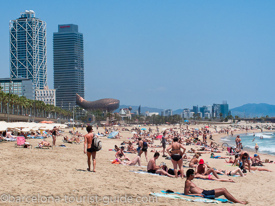 Barcelona Beaches Beckon