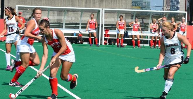 Ami Turner closes in against Boston University