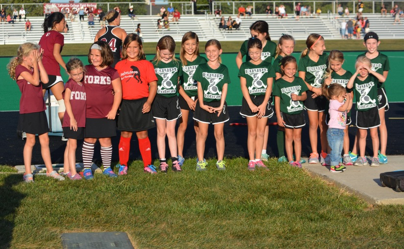 Lafayette Powers To 2-0 Win on Youth Field Hockey Day