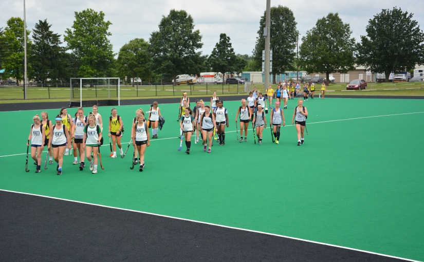 First Lafayette Field Hockey Camp Underway