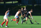 Ellen turns it on as she heads for her first goal of the year