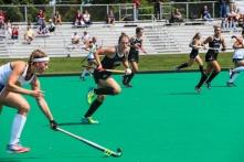Meg Lillis goes toward the goal