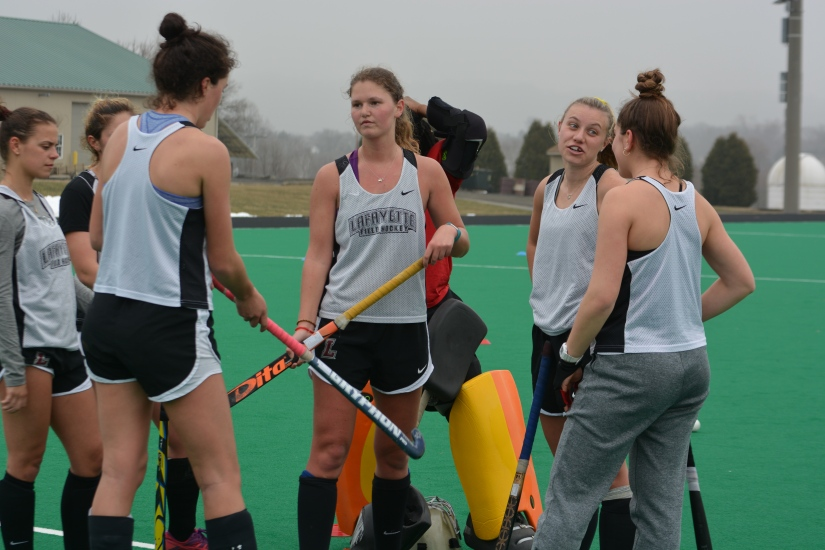 Field Hockey Leopards Continue Spring Work