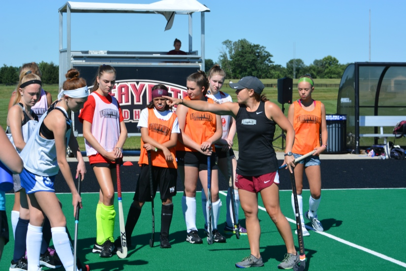 Lafayette Field Hockey Campers Learn The Ropes Of CollegeHockey