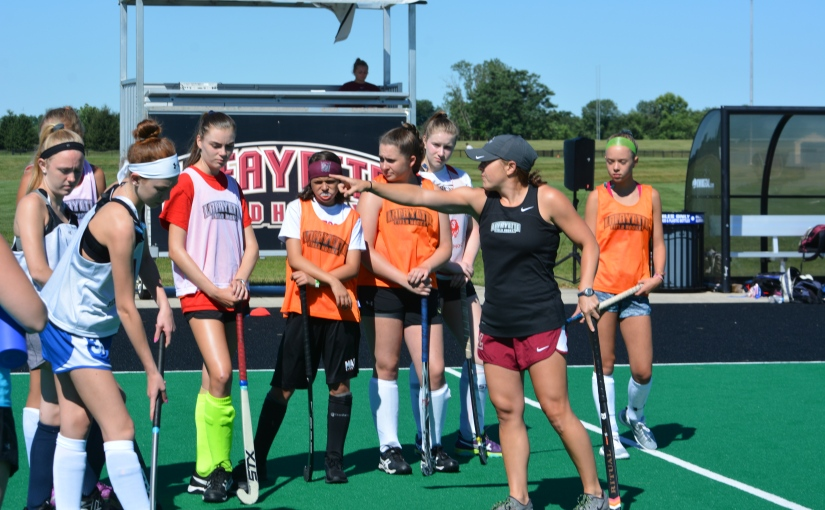 Lafayette Field Hockey Campers Learn The Ropes Of College Hockey