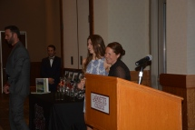 Kristen gets Iron Leopard Award