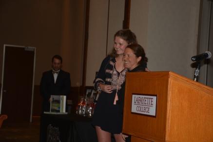 Lisa gets MVP Award