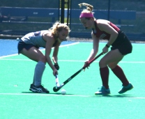 Molly McAndrews steals the ball from Penn