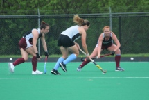 Mary Gould closes in on Columbia mid fielder