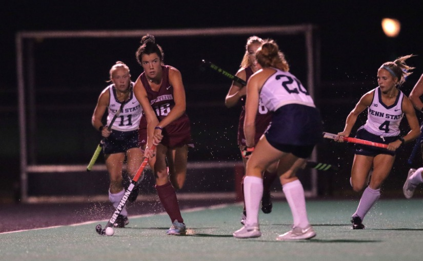 Lafayette Gives Penn State All It Can Handle In 3-1 LionWin