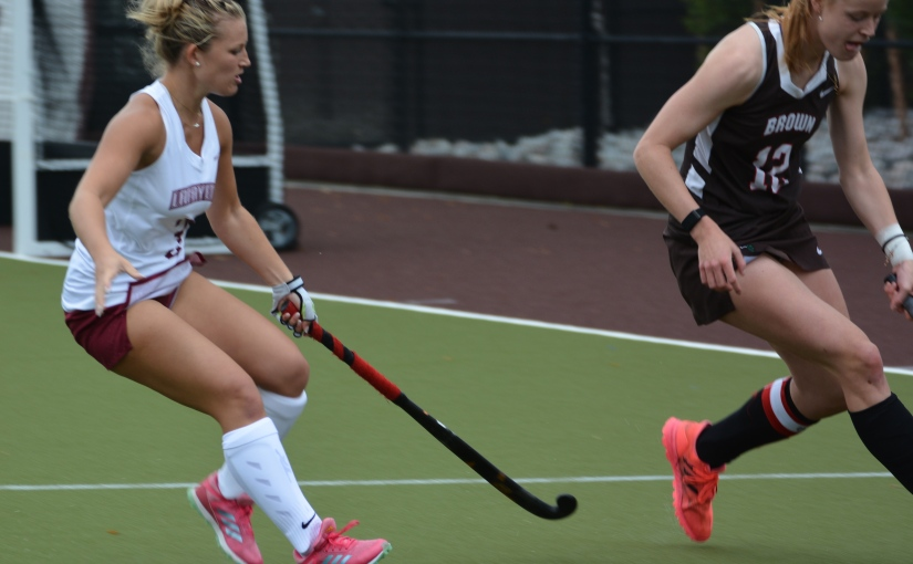 Lineke Spanns Receives Long Pass From Sawers And Gets Game Winner In Overtime AgainstBrown